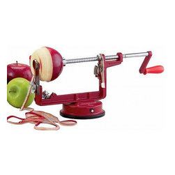 Mrs. Anderson's Super Apple Peeler/Corer Machine - This peeling, slicing and coring device looks like so much fun. I'm sure my kids would love to crank the handle and make homemade applesauce.