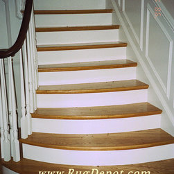 Dynamic Majestic Before & After - Dynamic Majestic Stair Runner  Before & After Photos