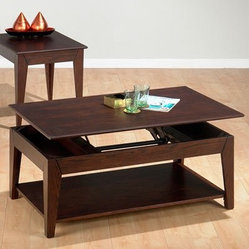 Jofran Albion Basics Lift-Top Coffee Table
