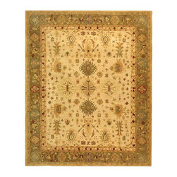 Safavieh - Safavieh Anatolia Traditional Hand Tufted Wool Rug X-8-B745NA - Anatolia Collection brings old world sophistication and quality in new tufted rugs. This collection captures the authentic look and feel of the decorative rugs made in the late 19th century in this region. Hand spun wool and an ancient pot dying technique together with a densely woven thick pile, gives Anatolia rugs their authentic finish.