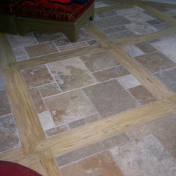 Travertine Tile - Flooring by Architectural Justice