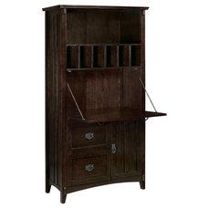Artisan Deluxe Secretary Desk - Secretary Desks - Home Office Furniture - Furnit