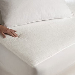 None - Tuffguard Plus Hypoallergenic Microfiber Pillow Protectors (Set of 2) - This two-pack of hypoallergenic pillow protectors will protect you from bacteria and allergens while you sleep. The soft microfiber exterior gives comfort while the waterproof interior seals moisture and mildew out, letting you breathe easy.