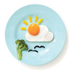 """Sunnyside Egg Shaper - Taking """"sunny side up"""" literally is this simple but clever egg shaper. You'll get sun on your plate even on the dreariest of days. And by the way, if you're wondering who would eat broccoli for breakfast, my daughter has actually requested this."""