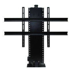 Touchstone Home Products - Whisper Lift IIS - The Whisper Lift II is constructed from durable steel for unmatched strength and stability and is powered by our whisper quiet 24V motor. Touchstone's Universal Quick Connect system makes it easy to install any flat screen TV in just minutes. A universal hardware kit comes with each TV lift kit which includes bolts and machine screws to accommodate most brands and models of flat screen TVs. The Whisper Lift II features a unique mounting mechanism which fastens your flat screen TV to the Quick Connect Bracket for guaranteed safety and security.