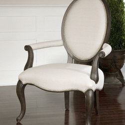 "23079 Anne, Occasional Chair by uttermost - Get 10% discount on your first order. Coupon code: ""houzz"". Order today."