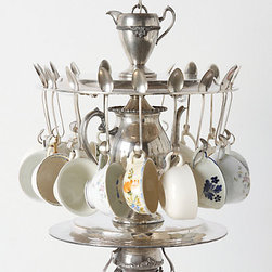 Tea Time Chandelier - As a DIYer, I'm having a hard time not going crazy thinking that I could make this myself, especially after seeing the price tag. Nonetheless, it is an amazing piece. If your princess serves tea to teddy, and you can afford it, this would be pretty darn amazing to have.
