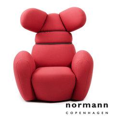 Normann Copenhagen Bunny Chair Rose - Normann Copenhagen Bunny Chair Rose
