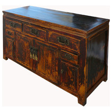 asian console tables by Golden Lotus Inc