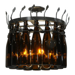 "Meyda Lighting - Meyda Lighting 134432 20.75""W Tuscan Vineyard Estate 16 Wine Bottle Chandelier - Meyda Lighting 134432 20.75""W Tuscan Vineyard Estate 16 Wine Bottle Chandelier"