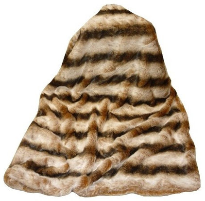 traditional throws Tourance Lux Throw in Brown Chinchilla