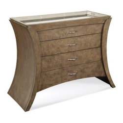 "Basett Mirror - Arcos Hall Chest - Arcos Hall Chest. 43""  x 19"" x 36"" H."
