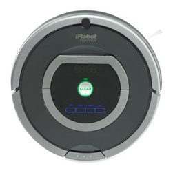Irobot - iRobot Roomba 780 Vacuum Robot - Automatically removes dirt, dust, and pet hair at the touch of a button. iAdapt Responsive Cleaning Technology meticulously vacuums the entire floor, including hard-to-reach spots under furniture.