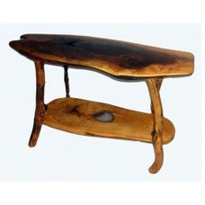 Eclectic Side Tables And End Tables by EcoFirstArt