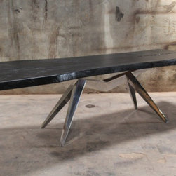 Suar Rugby Black Dining Table -