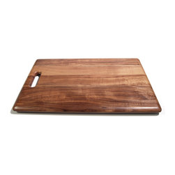 Architec™ Housewares - Architec™ Gripperwood™ Acacia Cutting Board - Architec™ Gripperwood Acacia Cutting Board. NonSlip rubber feet injected into the wood using a patented heat pressure process. Unimaginably durable. Rich, warm grain. Food safe, moisture seal makes these ultimate low maintenance wood boards.