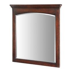 "Xylem - Xylem Wyncote 36 Bathroom Vanity Mirror, Mahogany (M-WYNCOTE-36BN) - Xylem M-WYNCOTE-36BN Wyncote 36"" Bathroom Vanity Mirror, Mahogany"