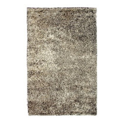 """Noble House - Palazo White/Gray Rug - This collection was developed with the combination of various textured polyester yarns, this is a very modern and trendy product line compatible for modern home dcor. The products look very simple but sophisticated and shiny to add the galore to the rooms interior. Features: -Shape: Rectangle. -For indoor use. -Country of Origin: India. -Modern Shaggy and Flokati style. -Construction: Handmade. -Technique: Woven. -Material: Polyester. -Origin: India. -Collection: Palazo. -Pile height: 0.08"""".  Recommended Care: -Depending on amount of traffic on rugs, professional cleaning or washing is required every 1 to 2 years. -Do not expose rugs in direct sun light for longer time as it could result in faded colors of rugs. -Rugs should be vacuumed on regular basis to remove dust and dirt which would restore life to the fibers. Do not vacuum the fringes. Do not Vacuum Shaggy rugs as it will damage the rug. To clean the Shaggy rug, flip it over and shake well by hand. -To avoid spills setting deep and becoming stubborn, it is recommended to act immediately. When spills occur on rugs, put some water in the affected area to dilute, blot with clean white cloth or paper towel. Remove the moisture as much as possible by blotting with absorbent cloth or thick paper towel. Do not rub spills as could result in setting spills deeper in the affected area.  Specifications: -Overall Dimensions: 72-132"""" H x 48-96"""" W x 0.08"""" D, 20 lbs."""