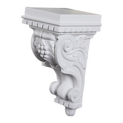 uDecor - CB-1861 Corbel - These corbels are for decorative use only. These should not be used for any structural support.