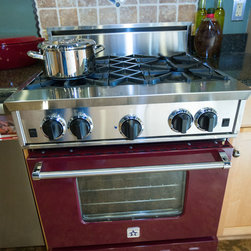 "30"" BlueStar Range with 4 burner configuration - FEATURES"