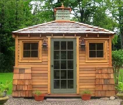 Traditional Sheds by Artisan Sheds