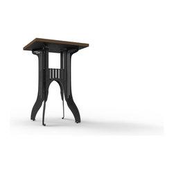 Titus Bar Table by Marco Pecota/Pekota Design - Features: