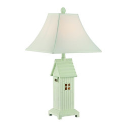 Lite Source - Lite Source Lodge Modern / Contemporary Table Lamp XSL-32422 - Lodge body. With night light.