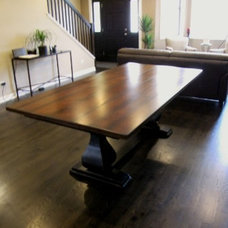 Traditional Dining Tables by Rustic Elements Furniture