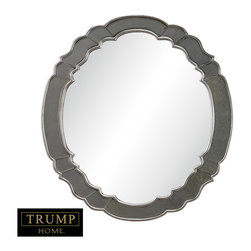 Sterling Industries - Ordway Mirror in Antique Silver Leaf with Antique and Antique Gold Mirror - This Ordway mirror is the perfect piece for any room of the house. The beautiful design of this mirror will be a lovely addition to any wall while its elegant color will be a refreshing addition to many home decors. Perfect as an accent mirror in a hallway, bathroom and even a sun porch. Available in antique silver leaf finish.