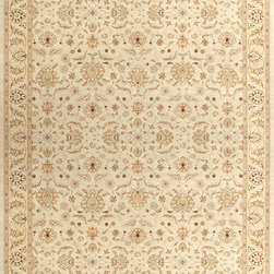 """Loloi - Loloi Stanley ST-08 (Beige, Beige) 5'2"""" x 7'7"""" Rug - These Magnificent rugs are modern interpretations of the most sophisticated hand knotted designs. Recreated with power loomed technology these gorgeous area rugs offer an affordable alternative. Two time award winning collection. The fine poly threads are blended together to give the 8 color krill a wider variety of colors. The special abrashing technique captures the look of a hand knotted rug."""