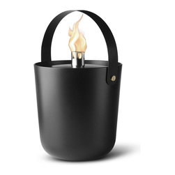 Menu A/S - Norm Fire Bucket - Wide - Menu A/S - With clear references to the warm inviting fireplace or the cozy and alluring bonfire, the Norm Fire Buckets serve as sources of light, warmth and calm.