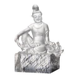 LiuliGongfang - LiuliGongfang Crystal Content - A Flower Blooms - LiuliGongFang