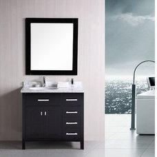 Modern Bathroom Vanities And Sink Consoles by BuilderDepot, Inc.