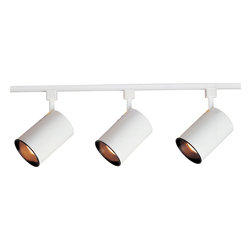 Maxim Lighting - Maxim Lighting 92315WT 3-Light Track Kit - Maxim Lighting 92315WT 3-Light Track Kit