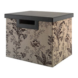 Kathy Ireland Office by Bush Furniture - Kathy Ireland by Bush Grand Expressions Large File/Storage Bin - Kathy Ireland Office by Bush Furniture - Accessories - KIACC20703 - Extra filing space and document storage never looked so good. The kathy ireland Office by Bush Furniture collection of large file bins features file-sized bins that effortlessly match with any kathy ireland Office by Bush Furniture collection. Each bin is made from durable materials that promise years of reliable use