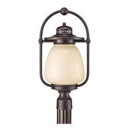 Murray Feiss - Murray Feiss Mc Coy Transitional Outdoor Post Lantern Light X-ZBG8039LO - Murray Feiss Mc Coy Transitional Outdoor Post Lantern Light X-ZBG8039LO