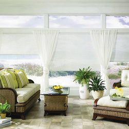 Genesis Roller and Roman Shades -