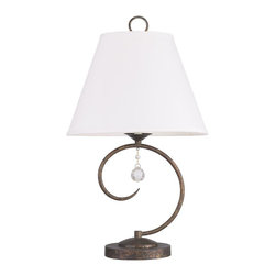 Livex Lighting - Livex Lighting-6442-71-Chesterfield - One Light Table Lamp - *Shade Included.