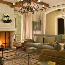 Traditional Family Room by Anthony O. James, Architect