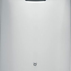 """GE - GDF510PSDSS 24"""" Full Console Built-In Dishwasher with 4 Wash Cycles  14-Place Se - GEs most advanced wash system - Consistently clean dry and sanitized dishes are ensured with GEs most advanced wash system combining 65 more wash power with advanced performance features Wash power delivered to each rack Compared to previous GE models"""