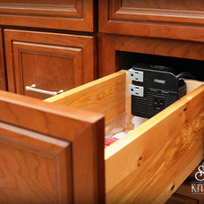 Traditional Bathroom by Elise Connor, CKD - S&W Kitchens