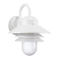 Sea Gull Lighting - Sea Gull Lighting 83055 Outdoor Wall 1 Light Outdoor Barn Light Wall Sconce - Specifications: