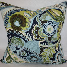 Traditional Pillows by Tropicality Decor