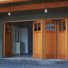 Contemporary Garage Doors And Openers by NEWwoodworks Fine Woodworking