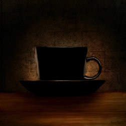 Elegantly Black - A wonderful Collection of Coffee Art which is elegantly and classically designed to complement any cafes, modern, contemporary and traditional kitchens perfectly.