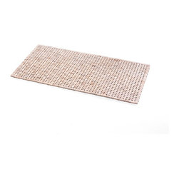 WS Bath Collections - Tapie 72123.09 Shower Mat - Tapie 72123 by WS Bath Collections Shower Mat in Teak Wood Whitened
