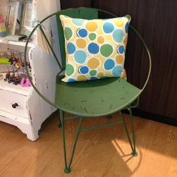 Green Circle Chair -