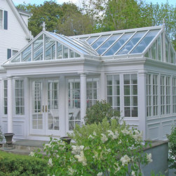 Gable Conservatory with reverse gable entry located in Pomfret, CT -