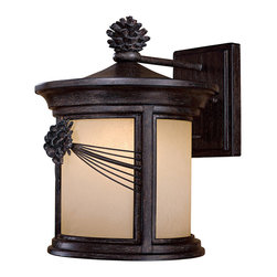 The Great Outdoors - The Great Outdoors 9153-A357-PL 1 Light Wall Mount - The Great Outdoors 9153-A357-PL 1 Light Wall Mount