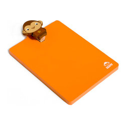 Blancho Bedding - Lovely Monkey - Refrigerator Magnet clip / Magnetic Clipboard - These magnets are made of quality samak, a hard metal base. Put them on your refrigerator, locker, file cabinet or any metal object you can think of! Magnets are great party favors for your next gathering and also make great prizes/giveaways. This extremely versatile magnetic system can be easily changed for every occasion or season to celebrate those important people and times in your life. Use this system in your home or office for a wonderful memory decoration. They are wonderful gifts for everyone!